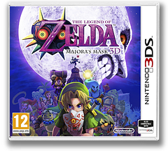 The Legend of Zelda - Majora's Mask 3D 3DS cover (AJRP)