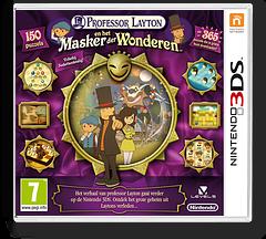 Professor Layton en het Masker der Wonderen 3DS cover (AKKH)