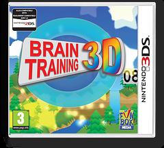 Brain Training 3D 3DS cover (AKTP)