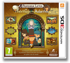 Professeur Layton et l'Heritage des Aslantes 3DS cover (AL6F)