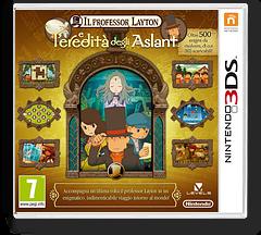 Il Professor Layton e l'Eredita' degli Aslant 3DS cover (AL6I)
