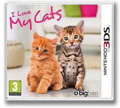 I Love My Cats 3DS cover (ALKP)