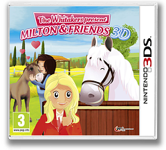 The Whitakers Present - Milton & Friends 3D 3DS cover (AM3P)