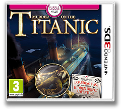 Murder on the Titanic 3DS cover (AM8P)