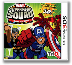 Marvel Super Hero Squad - The Infinity Gauntlet 3DS cover (AMSP)