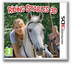 Riding Stables 3D 3DS cover (AMUP)