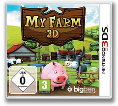 My Farm 3D 3DS cover (ANJP)