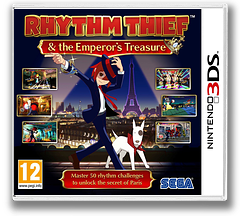 Rhythm Thief & the Emperor's Treasure 3DS cover (ARTP)