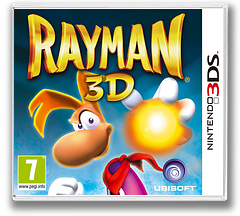 Rayman 3D 3DS cover (ARYP)