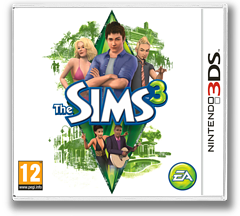 The Sims 3 3DS cover (AS3P)