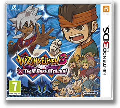 Inazuma Eleven 3 - Team Ogre Attacks! 3DS cover (AXGP)