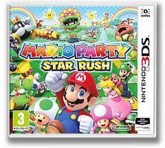 Mario Party: Star Rush 3DS cover (BAAP)