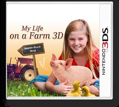 My Life on a Farm 3D 3DS cover (BHFP)