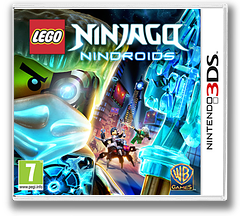LEGO Ninjago - Nindroids 3DS cover (BLNX)