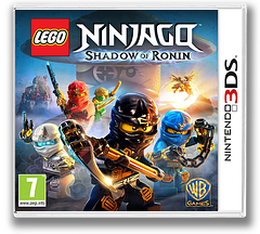 LEGO Ninjago - Shadow of Ronin 3DS cover (BLSX)