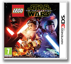 LEGO Star Wars: The Force Awakens 3DS cover (BLWP)