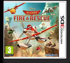 Disney Planes - Fire & Rescue 3DS cover (BPRP)