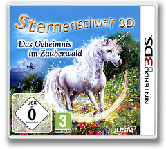 Sternenschweif 3D - Das Geheimnis im Zauberwald 3DS cover (BSCD)