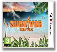 Survivor Heroes 3DS cover (BSHP)
