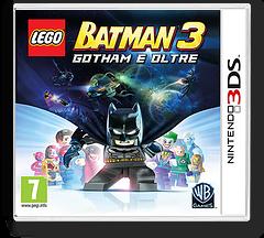LEGO Batman 3 - Gotham e Oltre 3DS cover (BTMV)