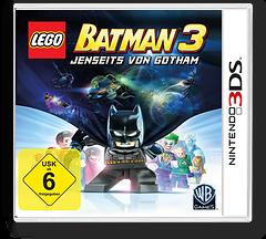 LEGO Batman 3 - Jenseits von Gotham 3DS cover (BTMZ)