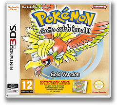 Pokémon - Gotta catch 'em all! - Gold Version 3DS cover (QBSA)