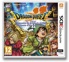 Dragon Quest VII: Fragments of the Forgotten Past 3DS cover (AD7P)