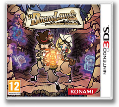Doctor Lautrec and the Forgotten Knights 3DS cover (ADLP)