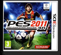 Pro Evolution Soccer 2011 3D 3DS cover (AEEI)