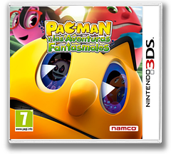 Pac-Man and the Ghostly Adventures 3DS cover (AEJP)