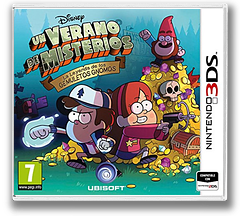 Un Verano de Misterios - La Leyenda de los Gemuletos Gnomos 3DS cover (AGFP)