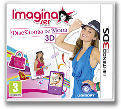 Imagine - Fashion Designer 3D 3DS cover (AGUP)