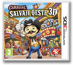 Carnival - Salvaje Oeste 3D 3DS cover (AW2P)