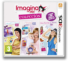 Imagine ser colección 3DS cover (BCLP)