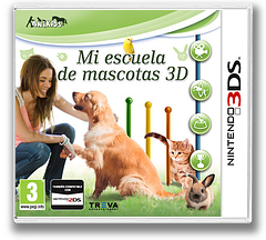 My Pet School 3D 3DS cover (BM6P)