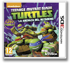 Teenage Mutant Ninja Turtles - Danger of the Ooze 3DS cover (BMUP)