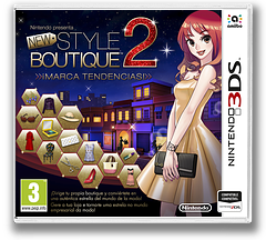 New Style Boutique 2 - Fashion Forward 3DS cover (ECDP)