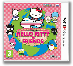 Around the World with Hello Kitty & Friends 3DS cover (AHKZ)