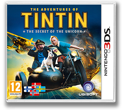 The Adventures of Tintin - The Secret of the Unicorn 3DS cover (ATNP)