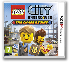 LEGO City Undercover - The Chase Begins pochette 3DS (AA8P)