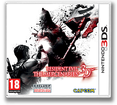 Resident Evil - The Mercenaries 3D pochette 3DS (ABMP)