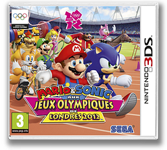 Mario & Sonic at the London 2012 Olympic Games pochette 3DS (ACMP)