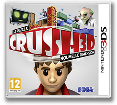 Crush 3D pochette 3DS (ACRP)