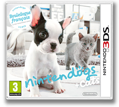 Nintendogs + Cats - French Bulldog & New Friends pochette 3DS (ADBP)