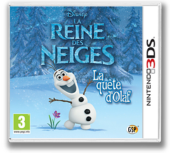 Disney Frozen - Olaf's Quest pochette 3DS (AEHP)