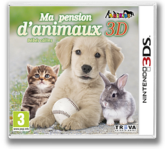 My Baby Pet Hotel 3D pochette 3DS (AEYP)