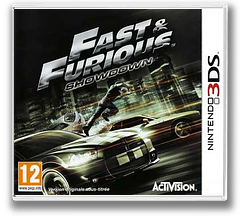 Fast & Furious - Showdown pochette 3DS (AFHP)