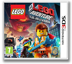 The LEGO Movie Videogame pochette 3DS (AFJP)