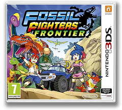 Fossil Fighters - Frontier pochette 3DS (AHRP)