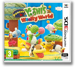 Poochy & Yoshi's Woolly World pochette 3DS (AJNP)